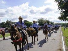 Cavalgada Ruralista de Rio Maria - Exposul 2012